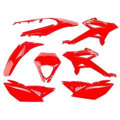 Kit carénage Watts Beta RR après 2012 Rouge 7 pièces