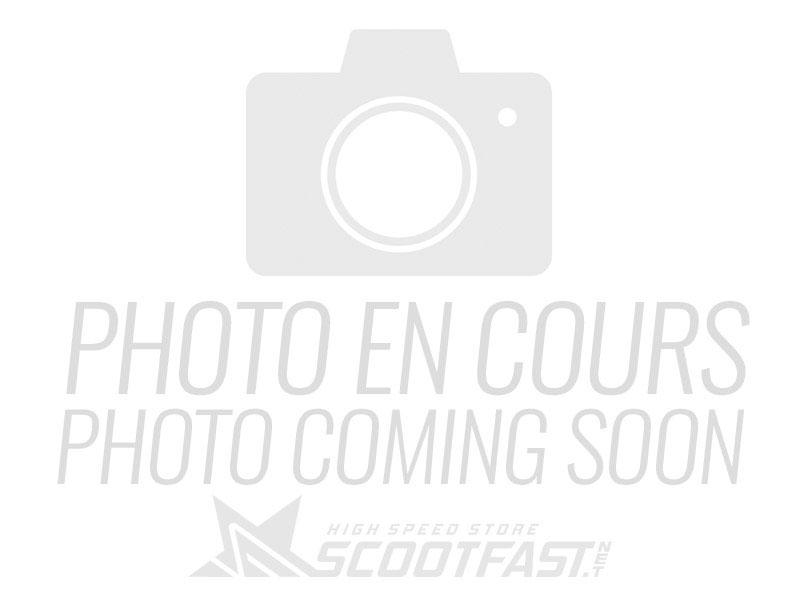 Bride d'échappement incliné Most Minarelli AM6 70-80cc pour pot d'échappement MOST passage haut de Beta RR 28-32