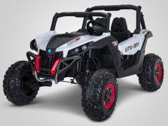Buggy 4X4 électrique enfant UTV MX Raptor blanc