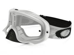 Masque Cross Oakley MX Crowbar Matte White Speed