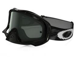 Masque Cross Oakley MX Crowbar Jet Black Speed écran fumé