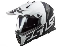 Casque LS2 Pioneer Evo noir et blanc