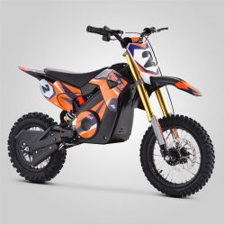 Pit Bike minicross enfant Apollo RFZ Rocket 1000W orange 2020 électrique