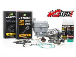 Pack moteur MOST 80cc 4Street Level 1 pour moto Derbi Euro 3 et 4