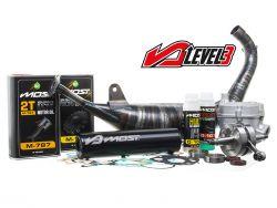 Pack moteur MOST 80cc 4Street Level 3 pour moto Derbi Euro 3 et 4