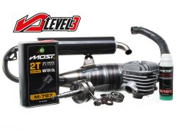 Pack moteur Most 70cc Wicked Level 3 pour MBK Booster