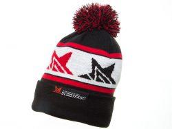 Bonnet ScootFast noir blanc et rouge