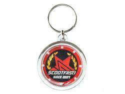 Porte clés ScootFast rond double face