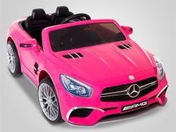 Voiture électrique enfant Mercedes SL65 AMG rose