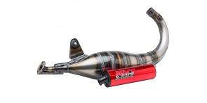 Pot d'échappement MVT S-Race 70-80cc Derbi