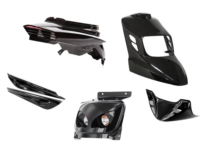 kit car nage bcd v1 mbk booster apr s 2004 noir. Black Bedroom Furniture Sets. Home Design Ideas