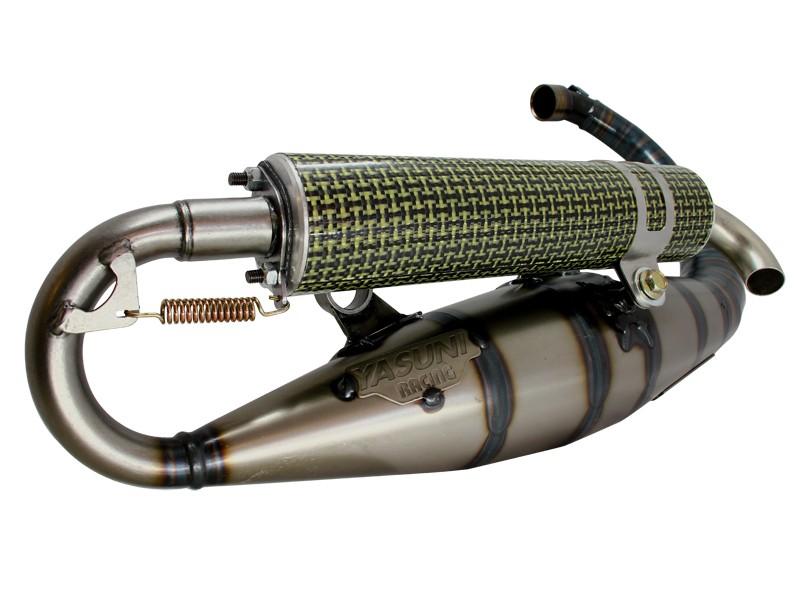 pot d 39 chappement yasuni c16 mbk booster kevlar. Black Bedroom Furniture Sets. Home Design Ideas