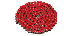 Chaîne Osaki E-Series renforcée 140 maillons 420 rouge