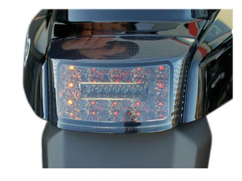 feu arri re tun 39 r booster 2004 noir leds avec clignotants int gr s scooter. Black Bedroom Furniture Sets. Home Design Ideas