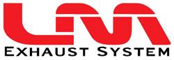 Logo de la marque de pot d'échappement LM Exaust System