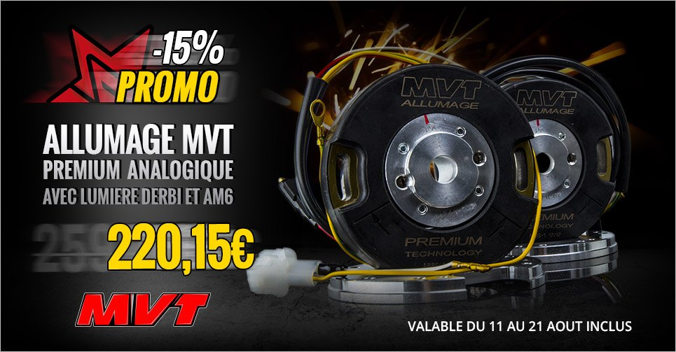 Image présentation promotion allumages MVT Premium