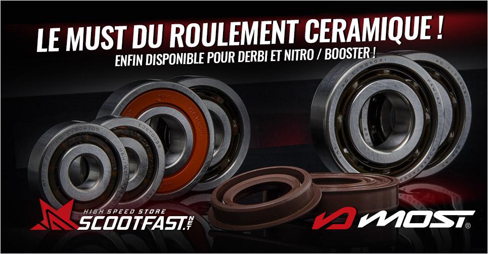 Image de présentation nouveaux roulements vilebrequin céramique Most Racing