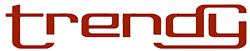 Logo de la marque de casque Trendy