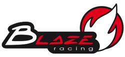 Logo de la marque de pot d'échappement Blaze racing