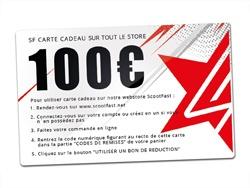 image carte cadeaux 100€ Scootfast