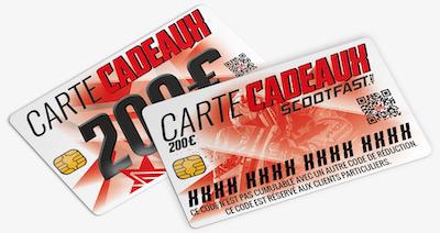 image carte cadeaux 200€ Scootfast