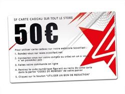 image carte cadeaux 50€ Scootfast