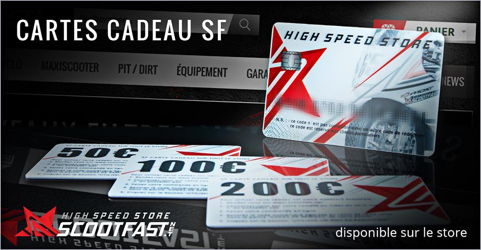 Carte Cadeaux Scoot Fast