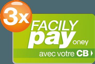 logo du service de paiement en 3X par Oney Pay