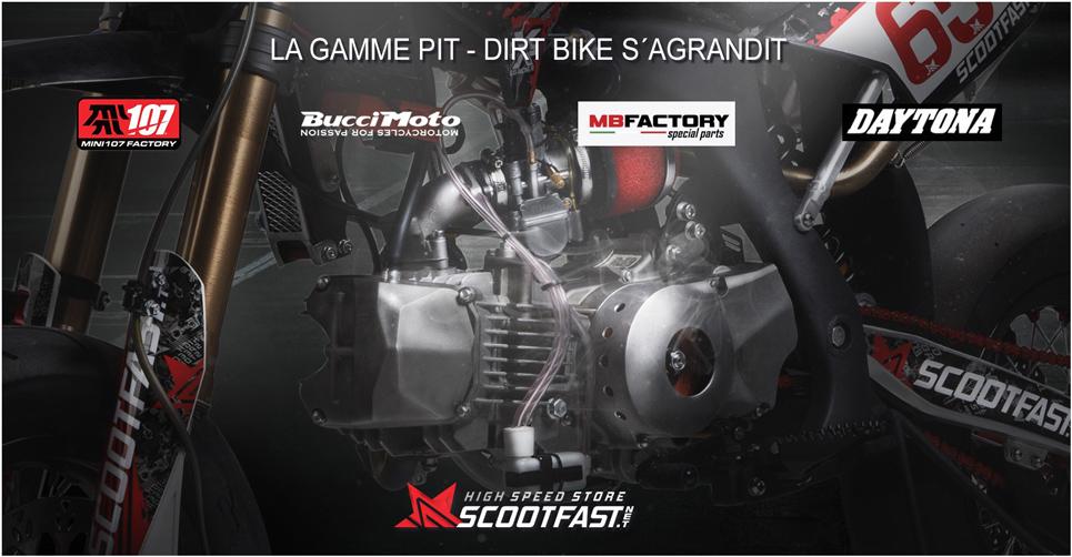 Slide annonce pièces racing moteur anima Daytona