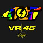 Logo de la marque VR46 Valentino Rossi